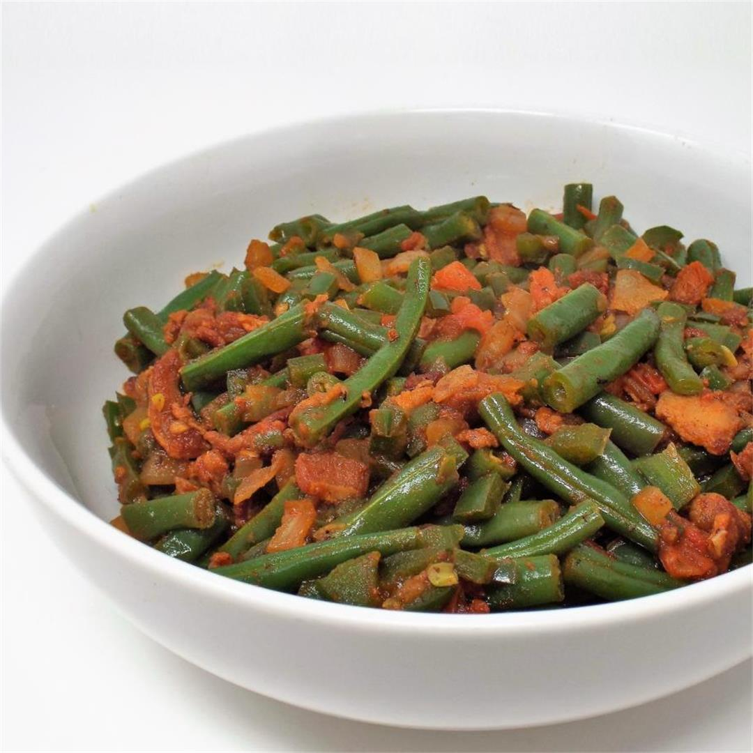Spicy Southern Green Beans