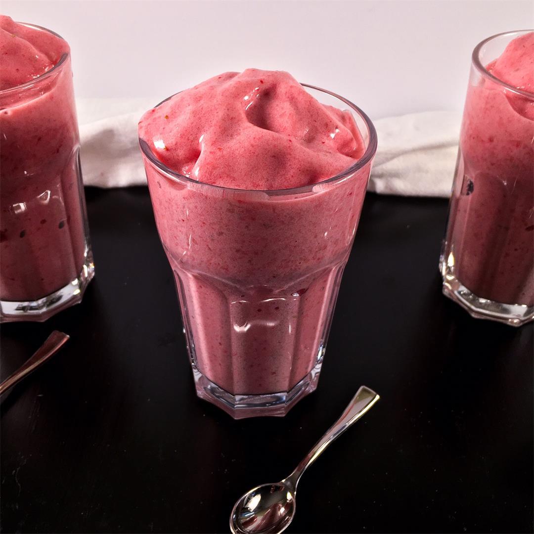 Strawberry Cucumber Smoothie – No Added Sugar!