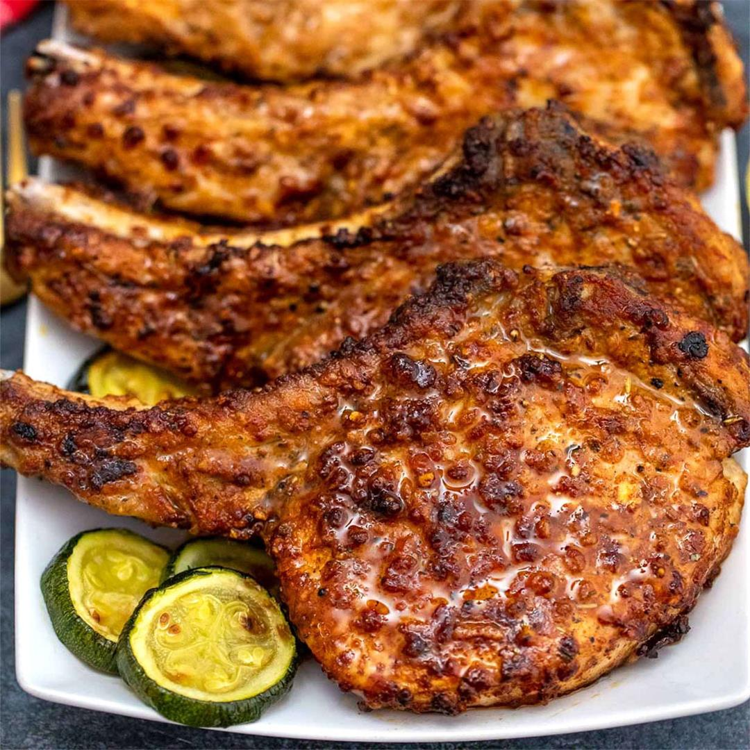How to Make the BEST Air Fryer Pork Chops
