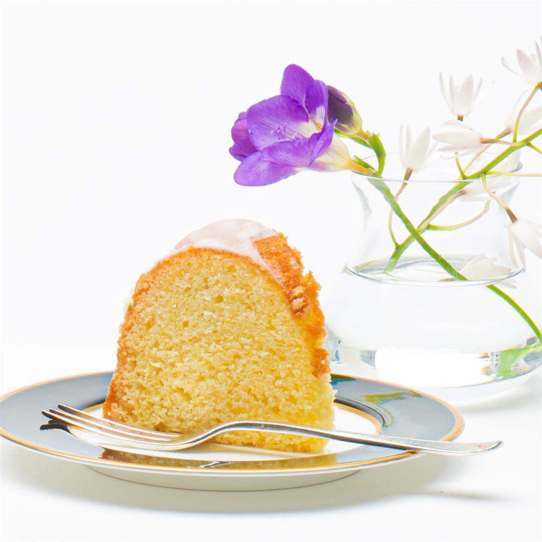 Lemon-Buttermilk Cake