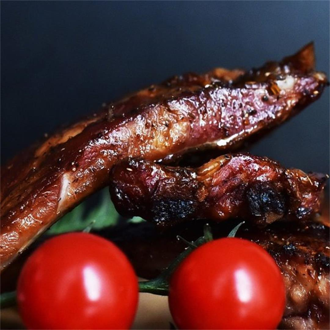 2 Ingredient 10 Minute Grilled Korean Ribs With A Profound Tast