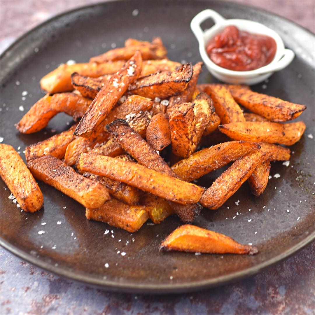 spicy swede oven fries