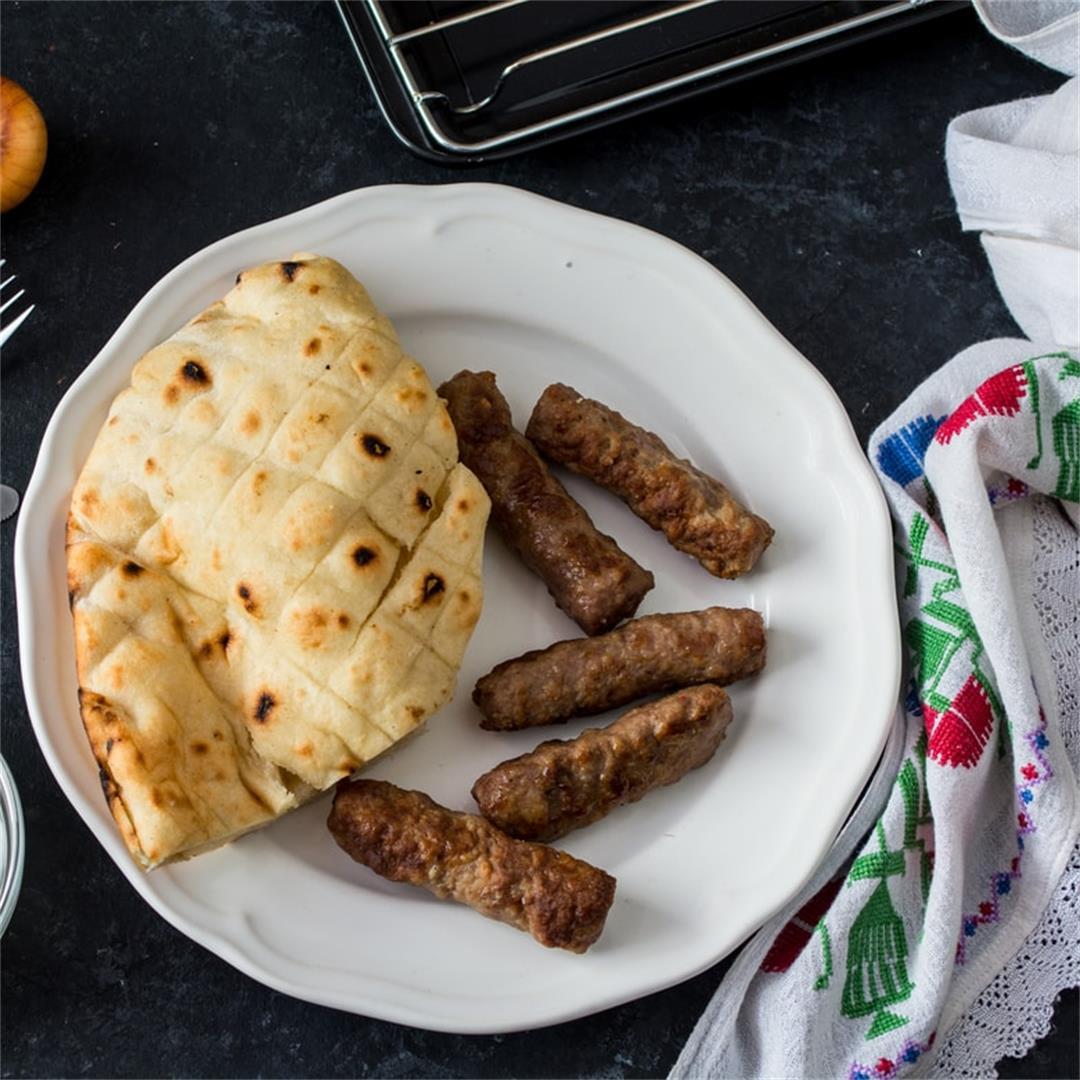 Bosnian Cevapi Grilled Sausages