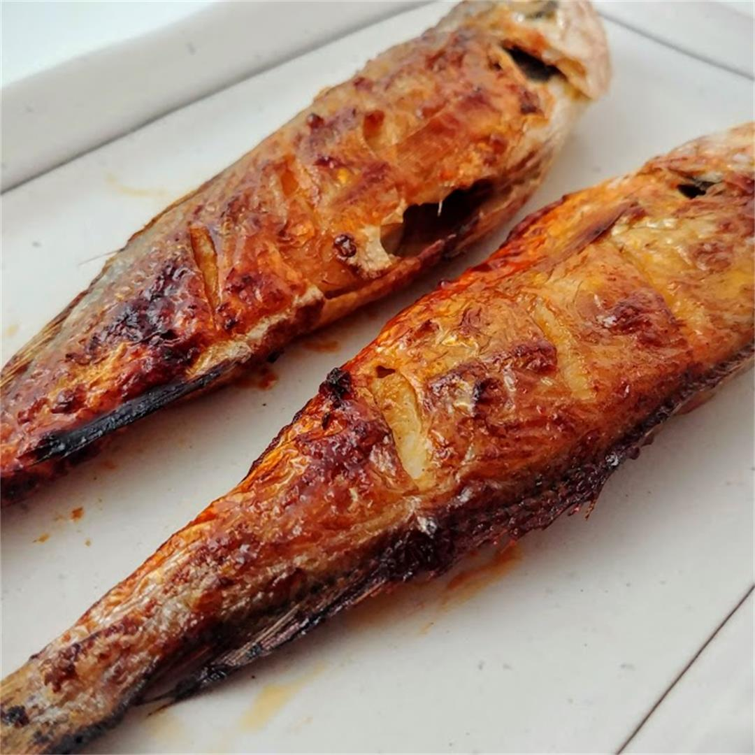 Korean Spicy Yellow Croaker Fish