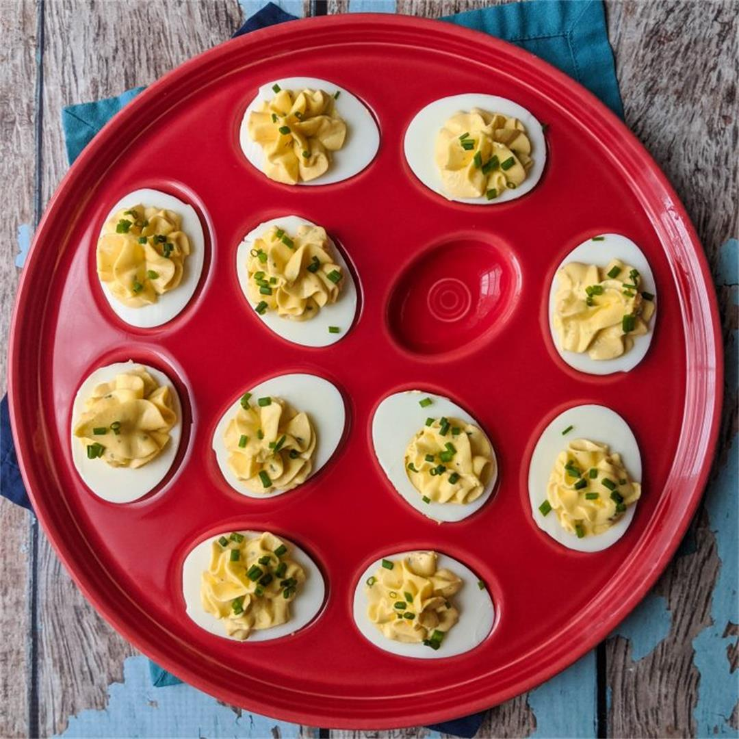 Delicious Ranch Deviled Eggs Recipe