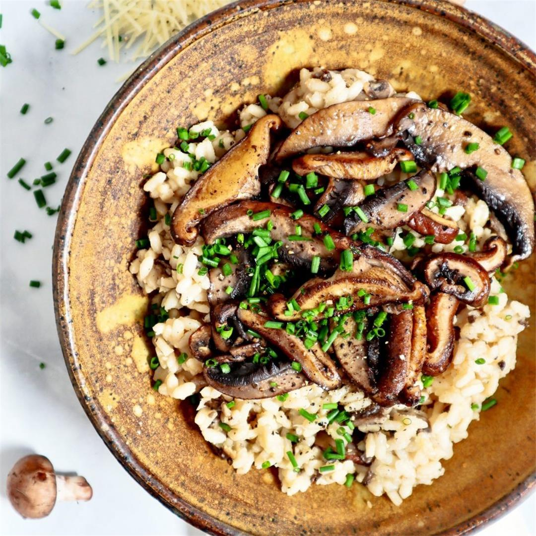 Wild Mushroom and Truffle Butter Risotto