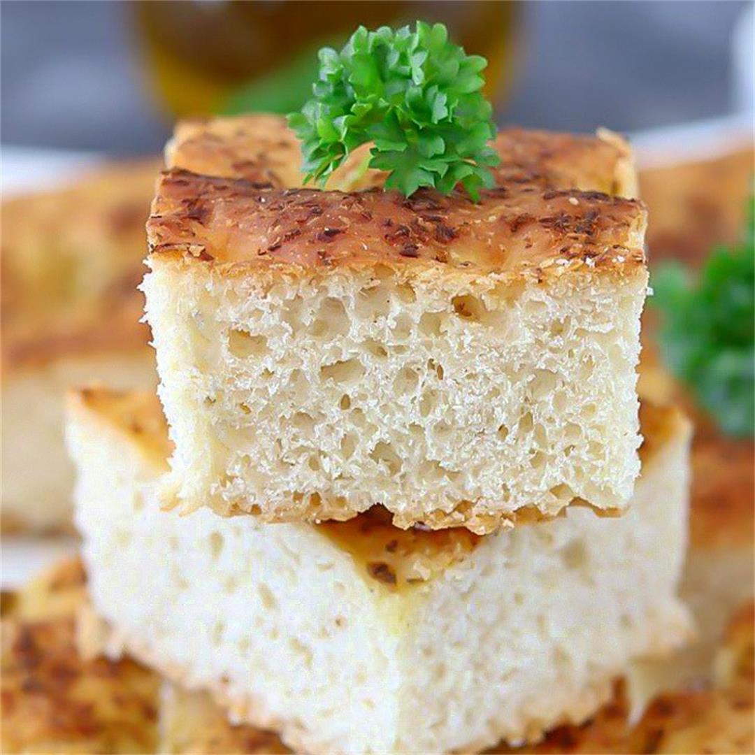Pesto Focaccia Bread, Best Pesto Focaccia Bread Recipe