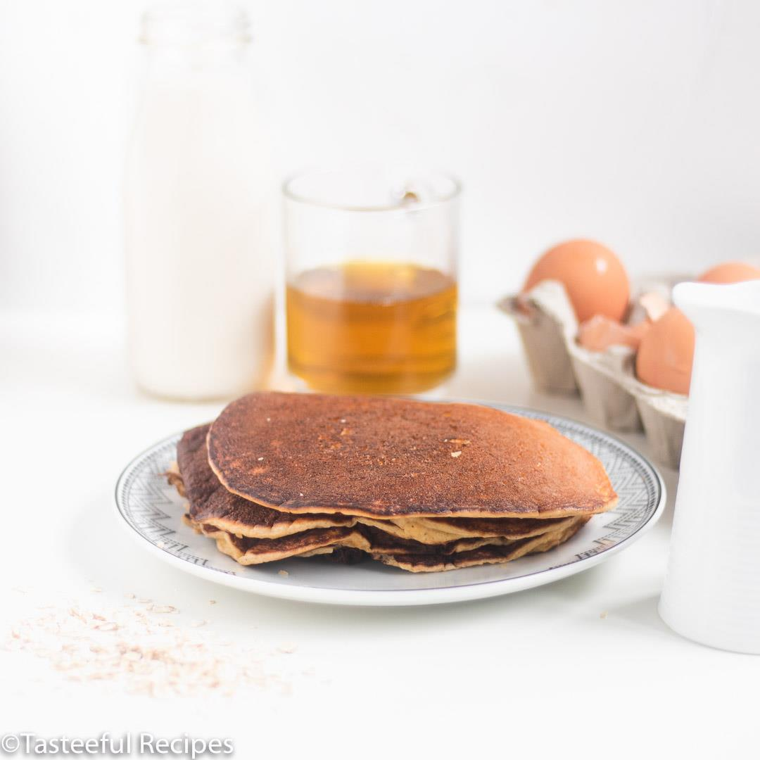 Cream Cheese Oatmeal Pancakes Recipe(Low-Carb)