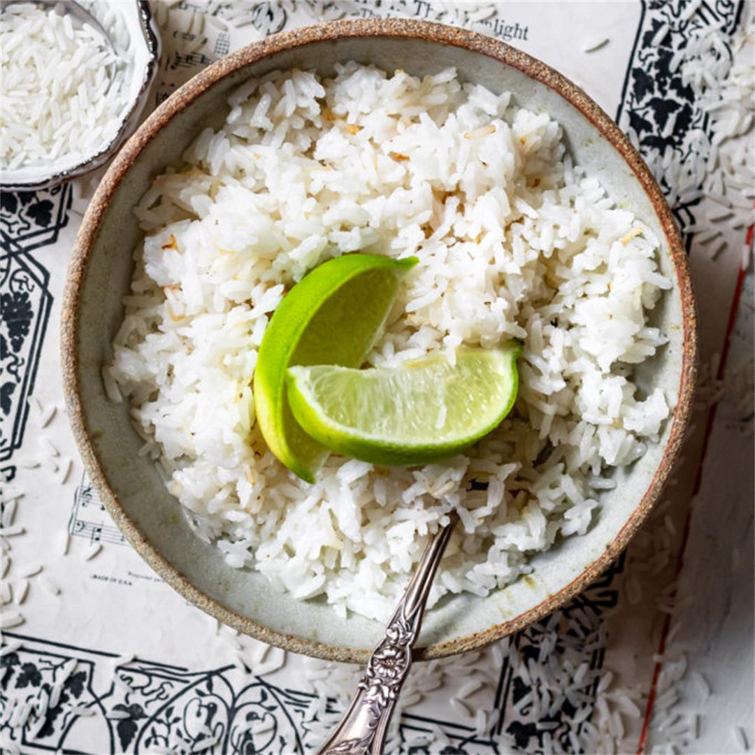 The Best Coconut Rice - Cooking Therapy