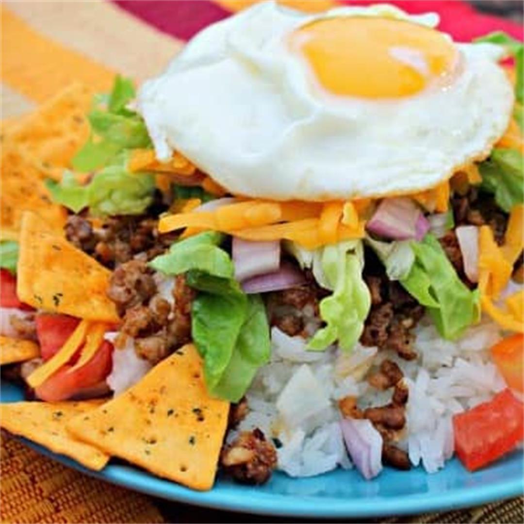Taco Rice (Takoraisu レシピ)