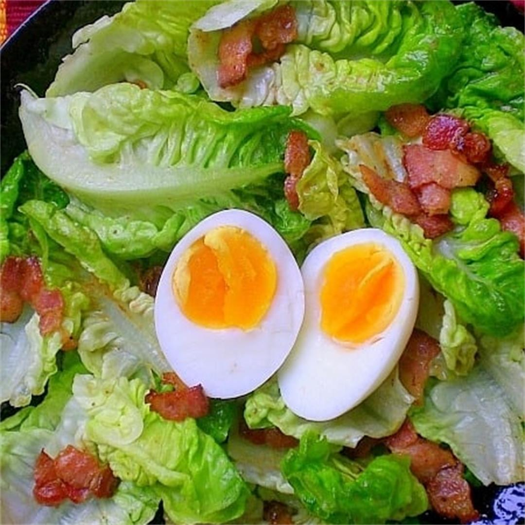 Ballads of Salads! – Egg and Bacon Salad