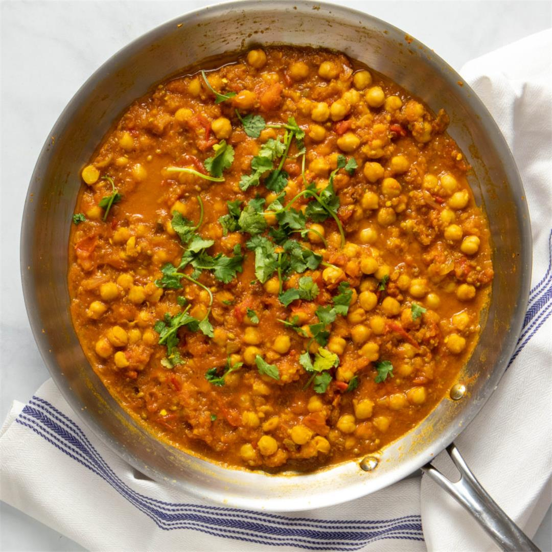 Easy But Authentic Chana Masala (Chole)