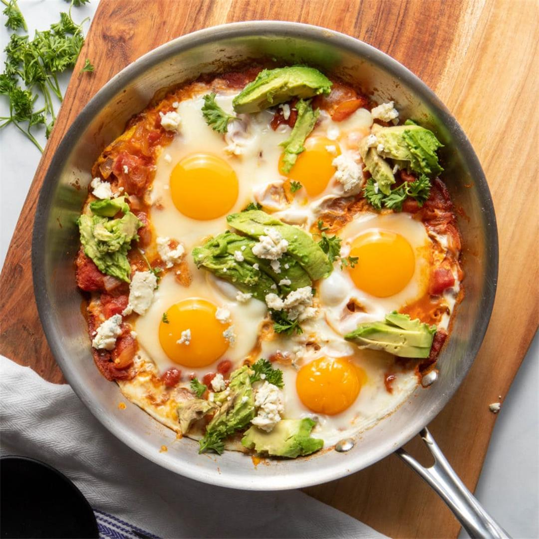 Moroccan Shakshuka with Perfect Runny Yolks