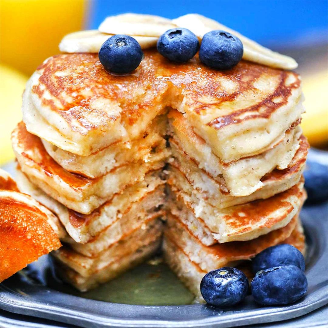 How to Make The Best Greek Yogurt Pancakes