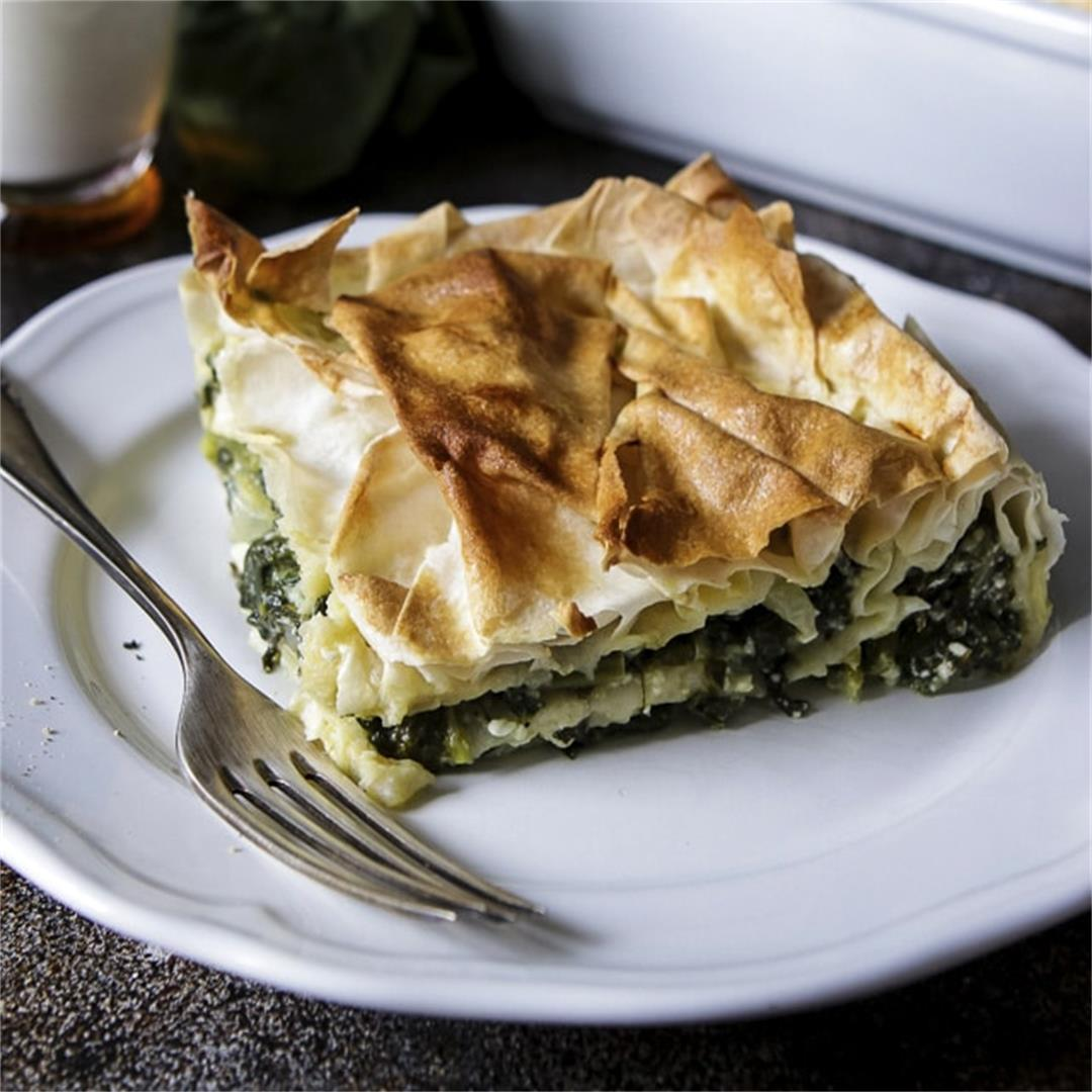 Easy Turkish Borek with Spinach and Feta