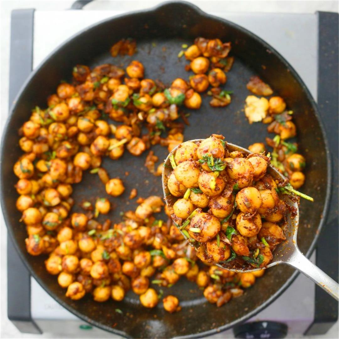 Mexican Chickpeas for Tacos, Salads, Lettuce Wraps or Burrito B