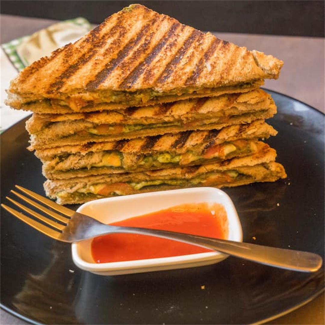 Pesto Panini Bread Recipe