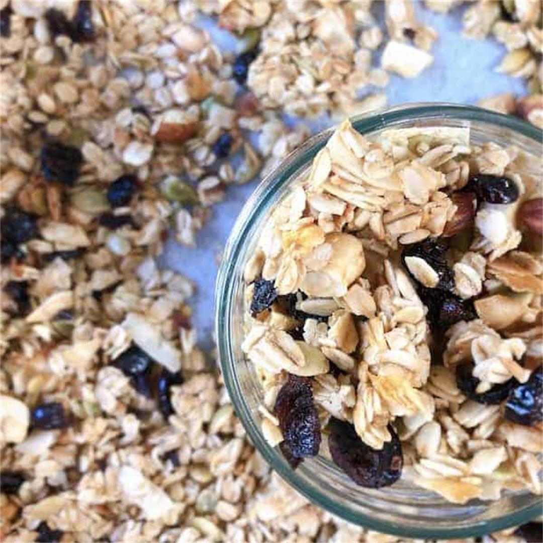 The Best Ever Homemade Granola Recipe