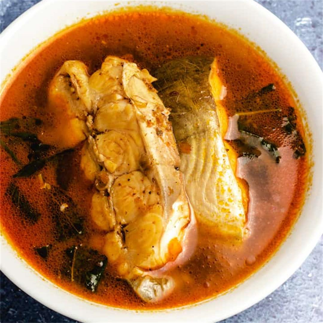 African Fish Pepper Soup