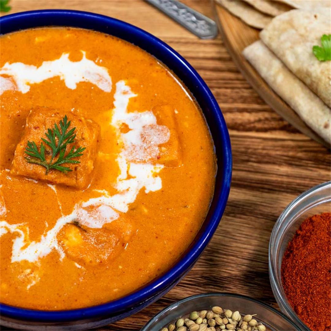 World's Best Paneer Butter Masala(Paneer Makhani)