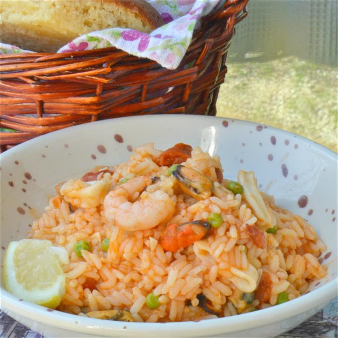 Easy Store Cupboard Paella — Tasty Food for Busy Mums