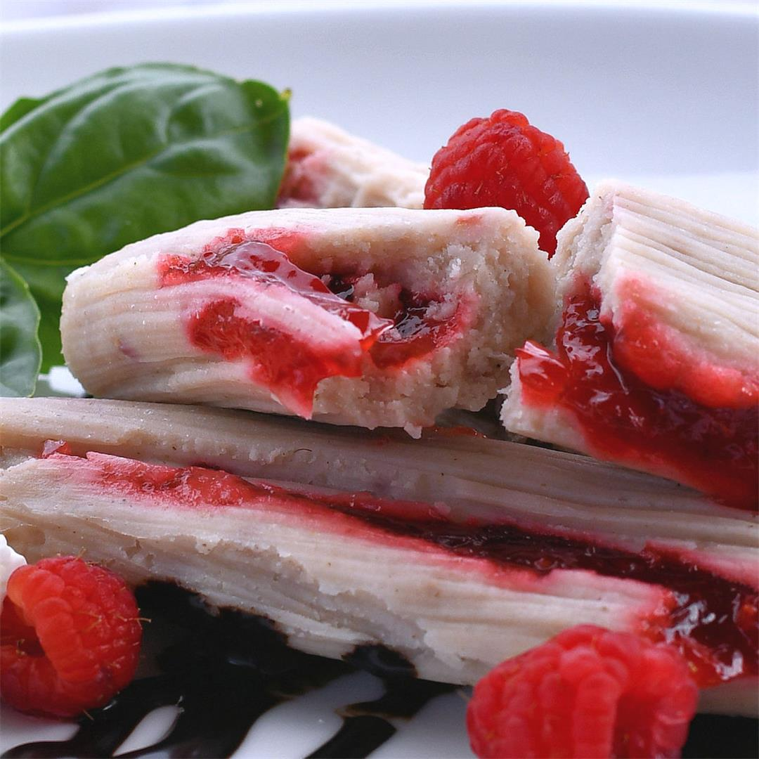 Sweet Tamale Recipe: Raspberry Dessert