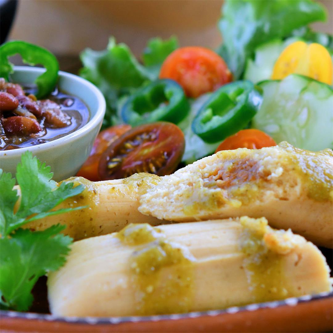 Homemade Vegan Gluten Free Tamales