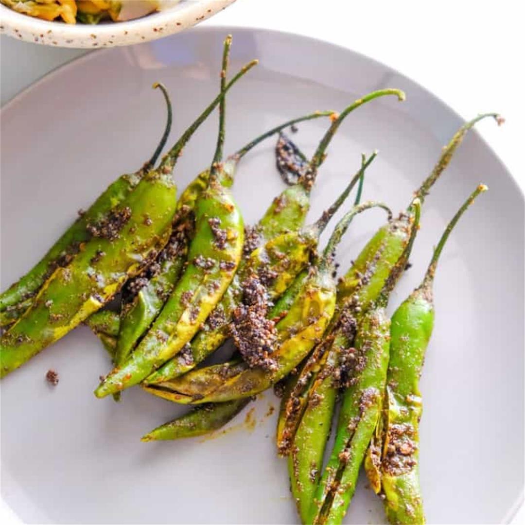 Green chilli Masala(Mirchi Masala)