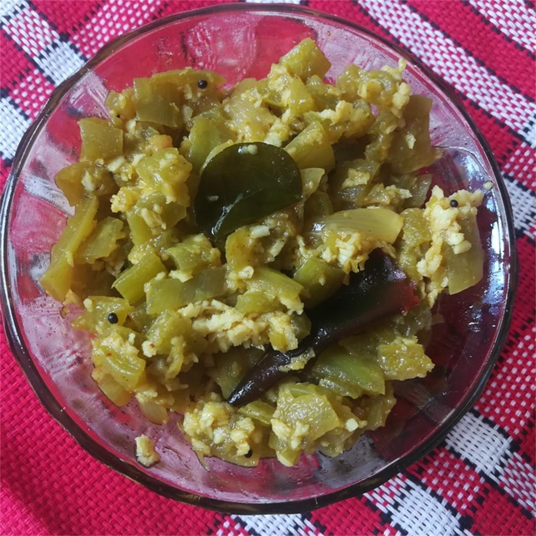 pudalangai poriyal recipe