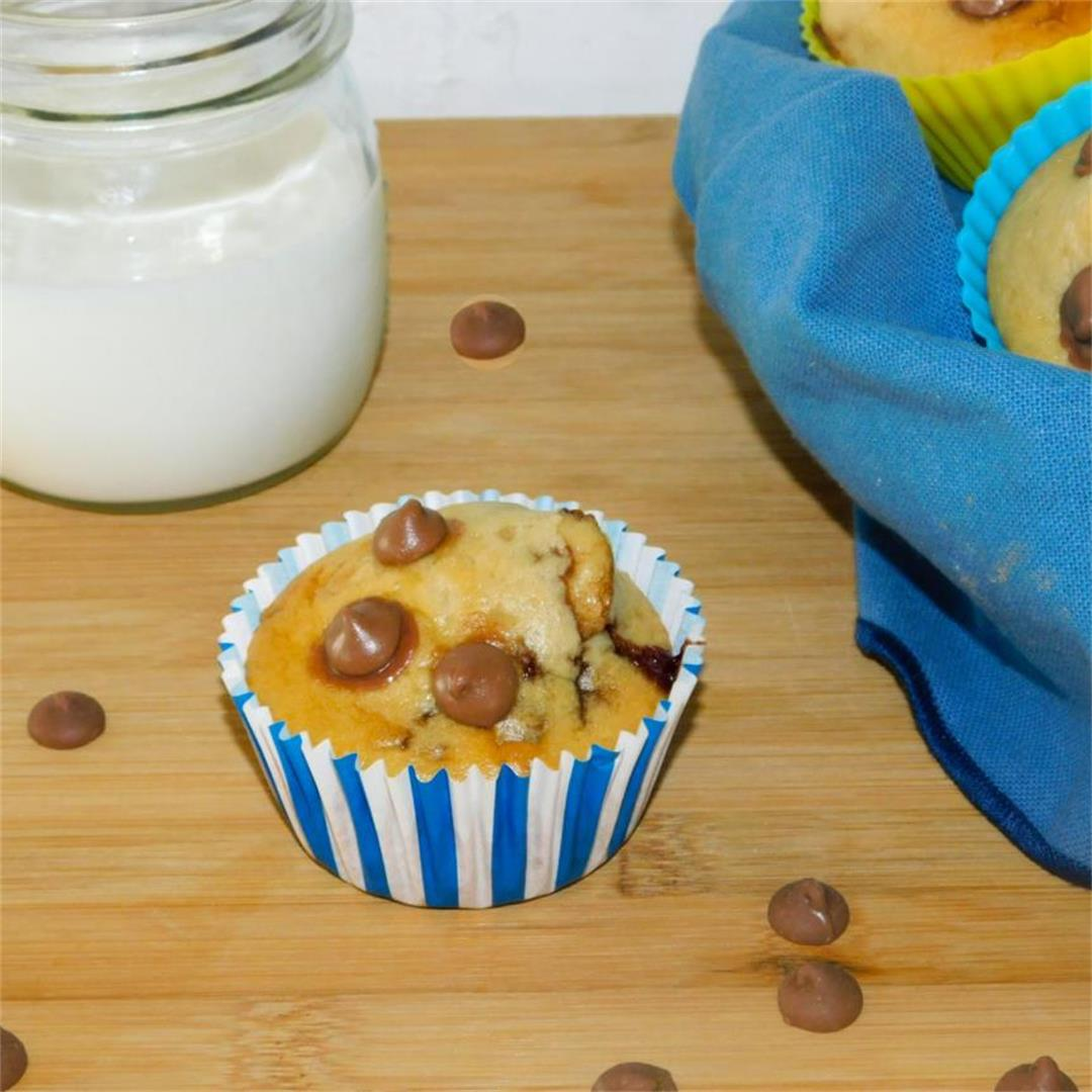 Cheaters Chocolate Chip Cupcakes