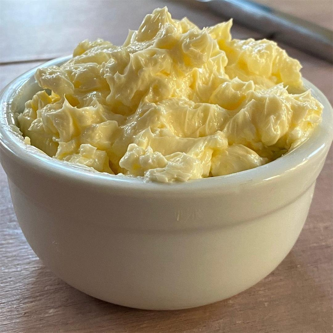 How To Make Whipped Butter