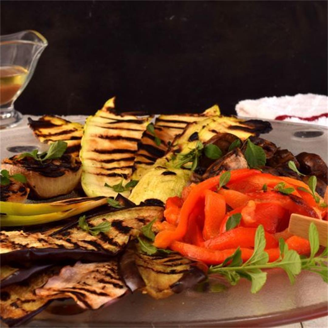 Escalivada (Grilled Vegetables)