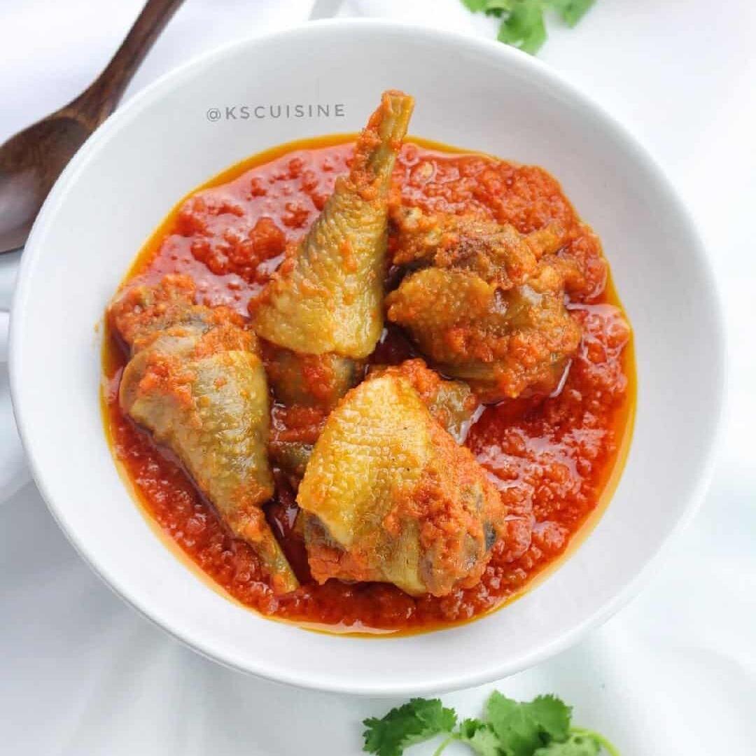 Nigerian Chicken Stew (Nigerian Tomato Stew)