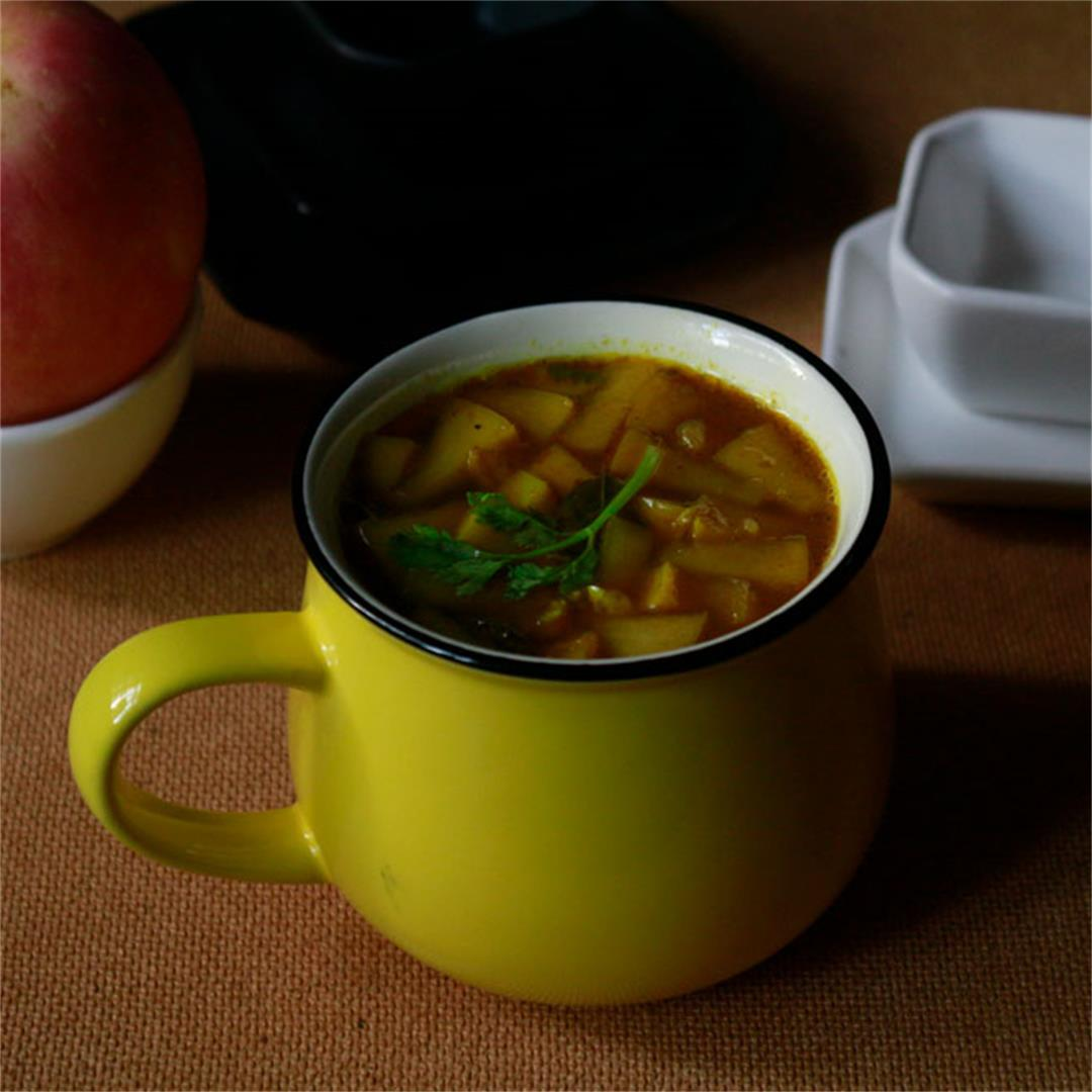 Apple rasam recipe