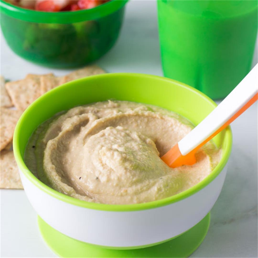Homemade Hummus for Baby
