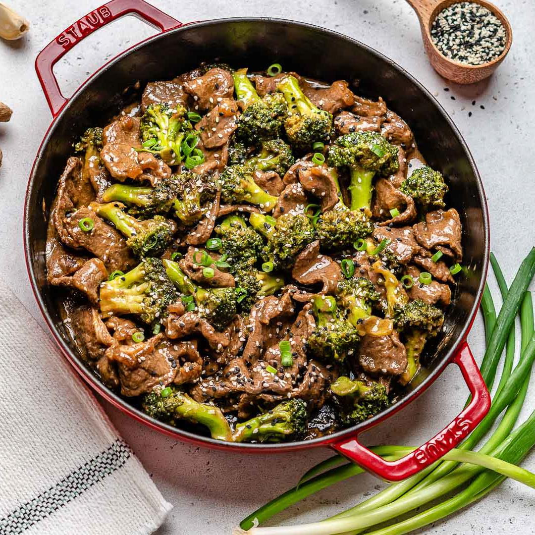 Beef And Broccoli Stir Fry (Gluten Free / Whole30 / Paleo)