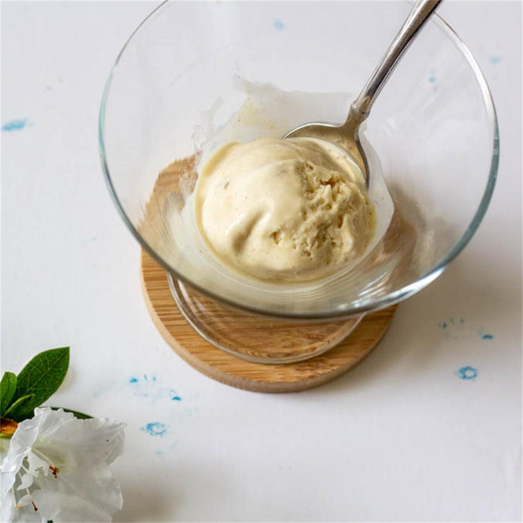 Ginger Rose Ice Cream