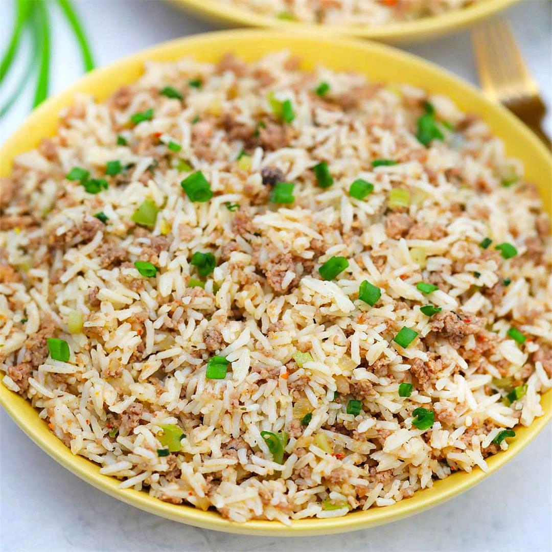 Southern Dirty Rice Recipe