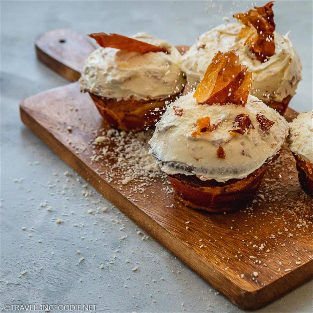 Prosciutto & Cheese Cupcakes