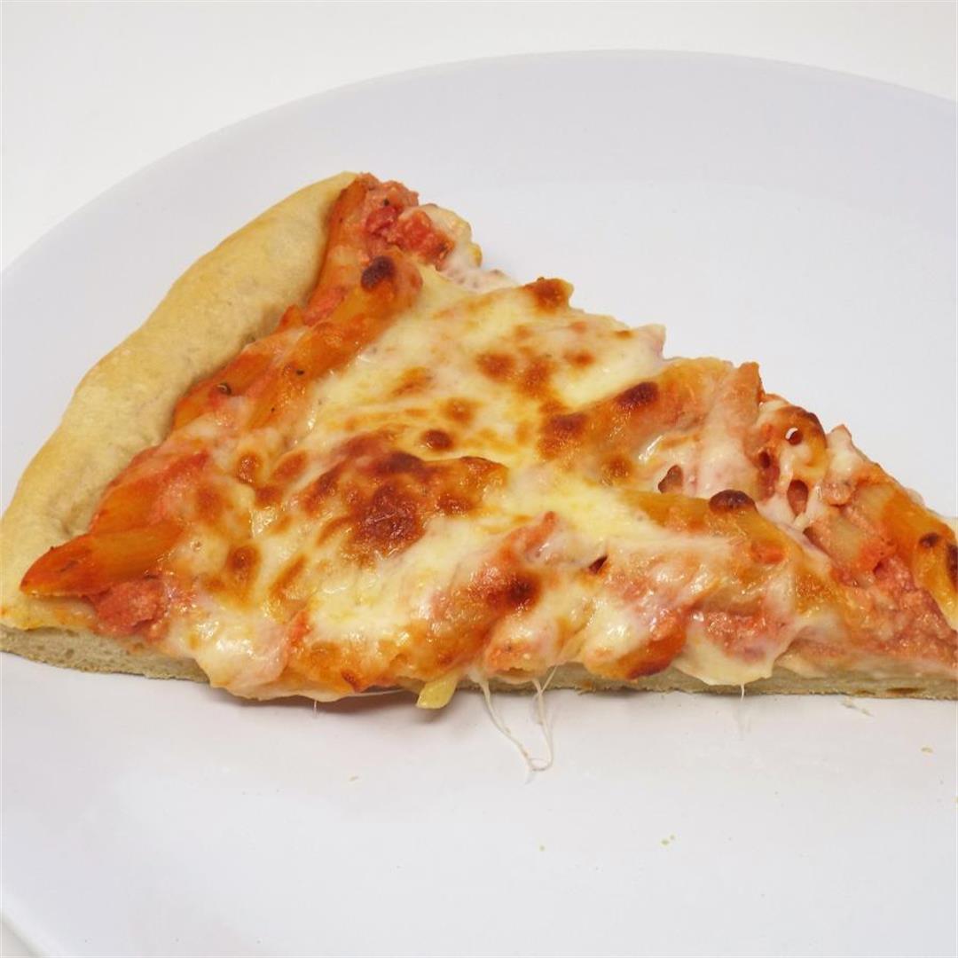 Baked Ziti Pizza