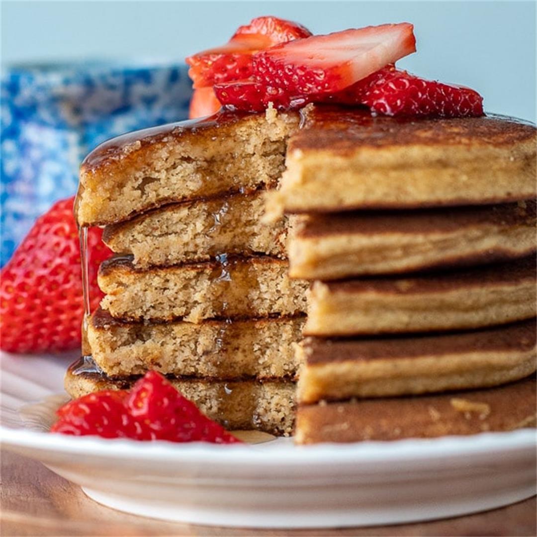 Best Almond Flour Pancakes