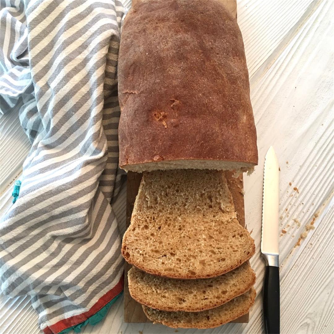 Easy Homemade (Bread Machine) Bread