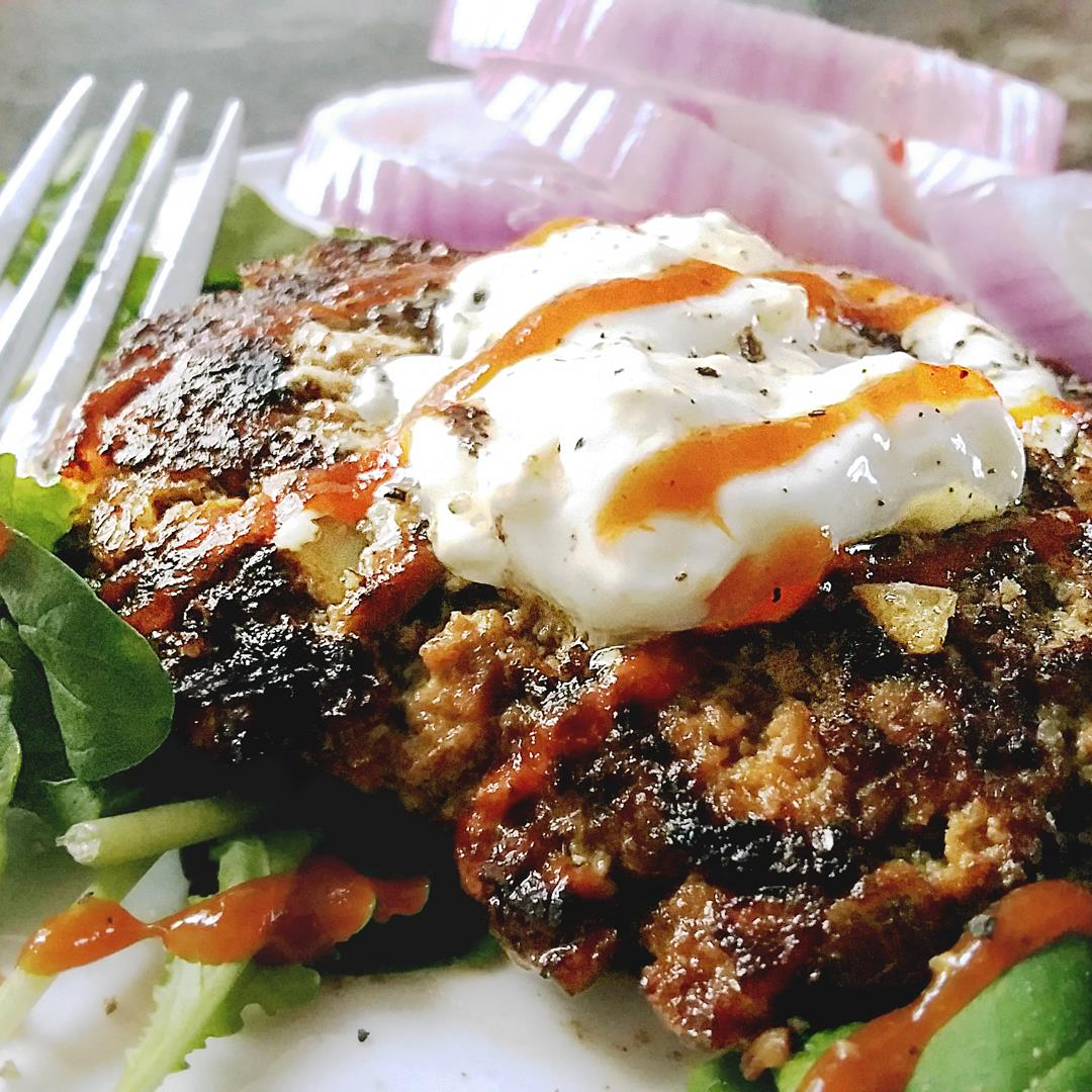 Healthy Homemade Mushroom Beef Burgers
