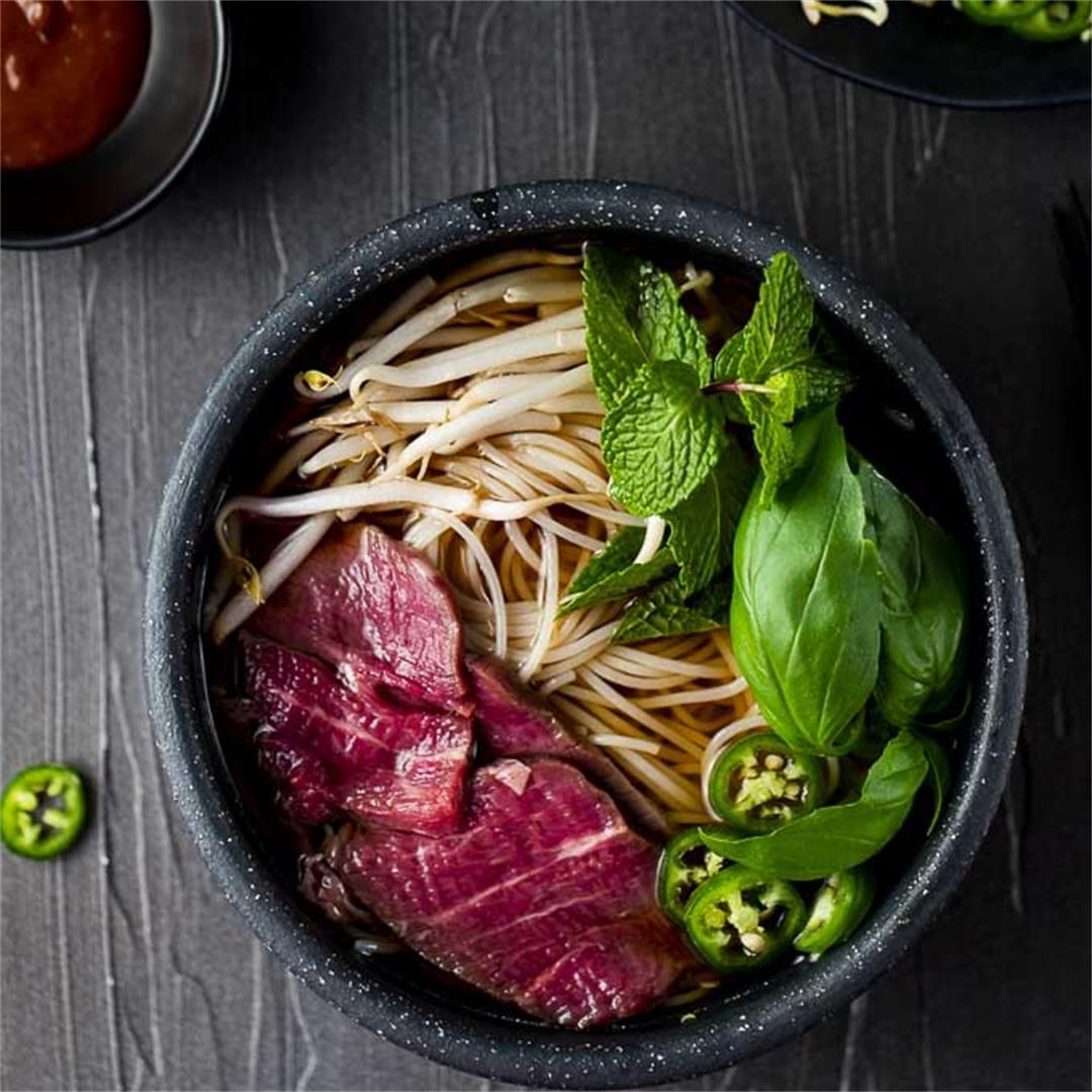 Instant Pot Pho (Beef Pho Recipe)