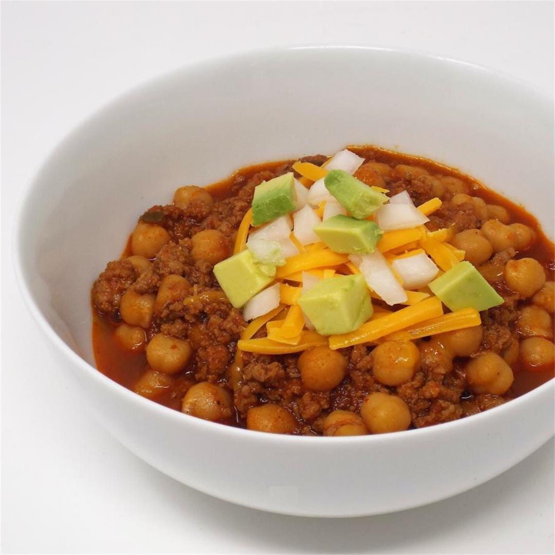 Turkey and Chickpea Chili
