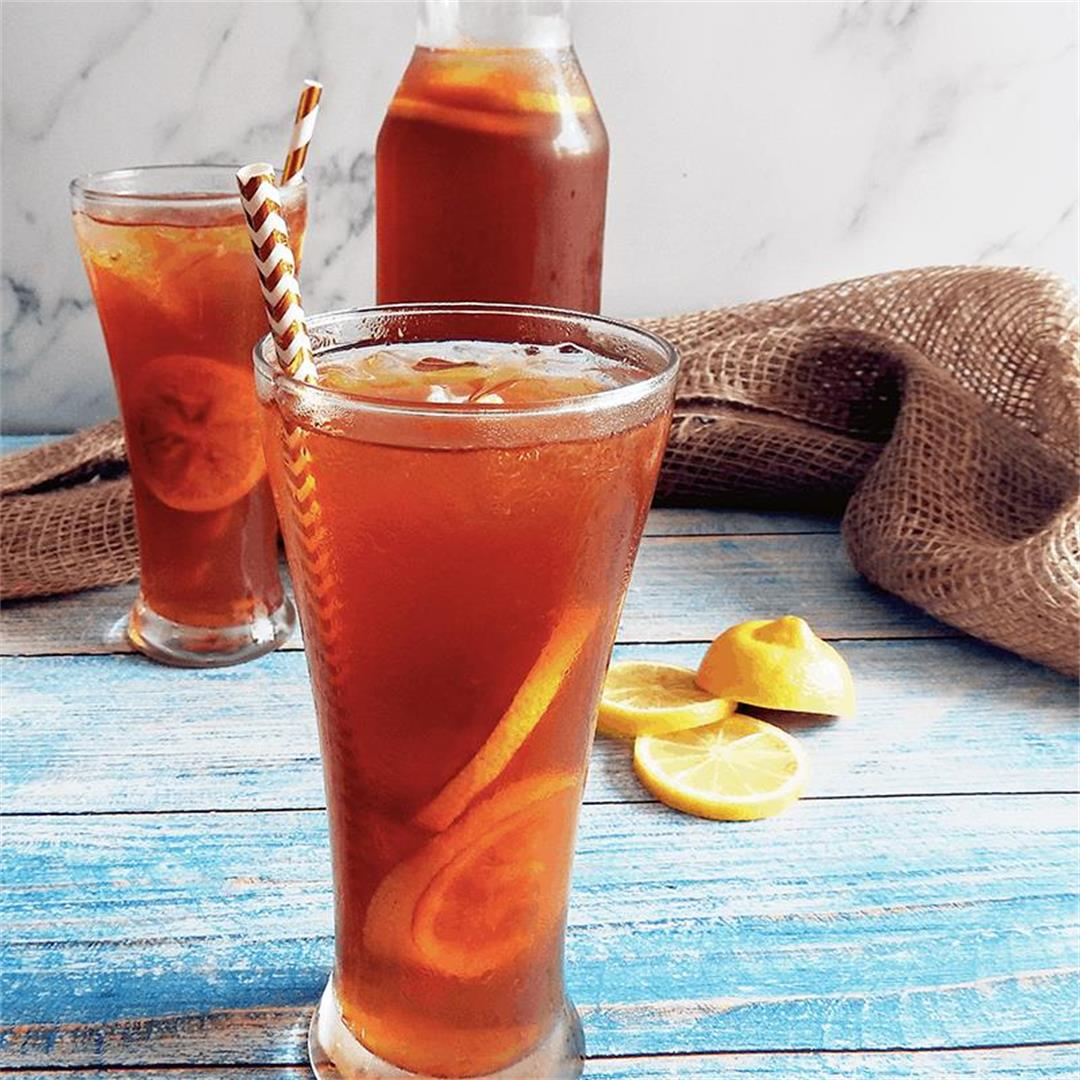 Lemon Earl Grey Iced Tea Recipe