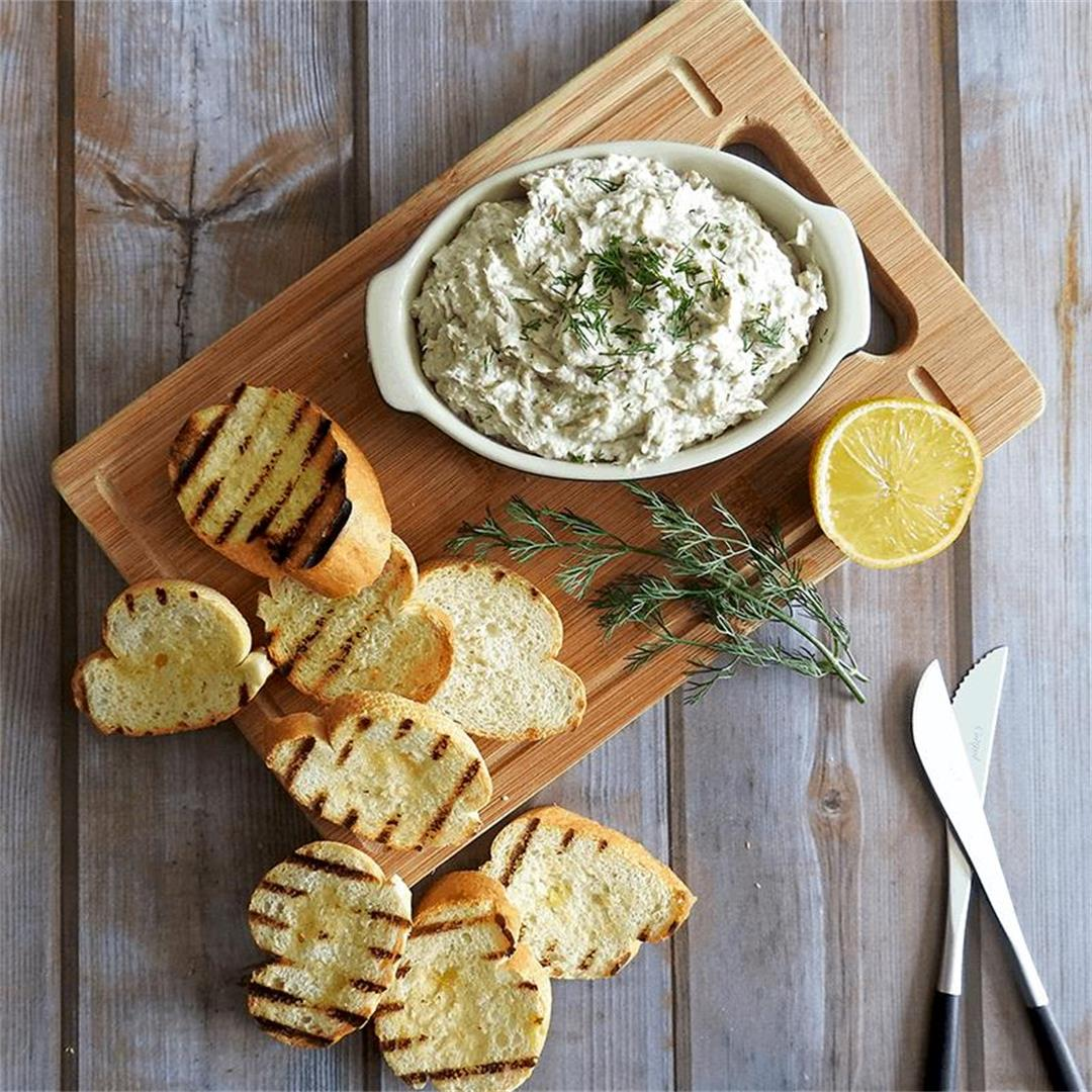 Smoked Mackerel Pate with Horseradish Recipe