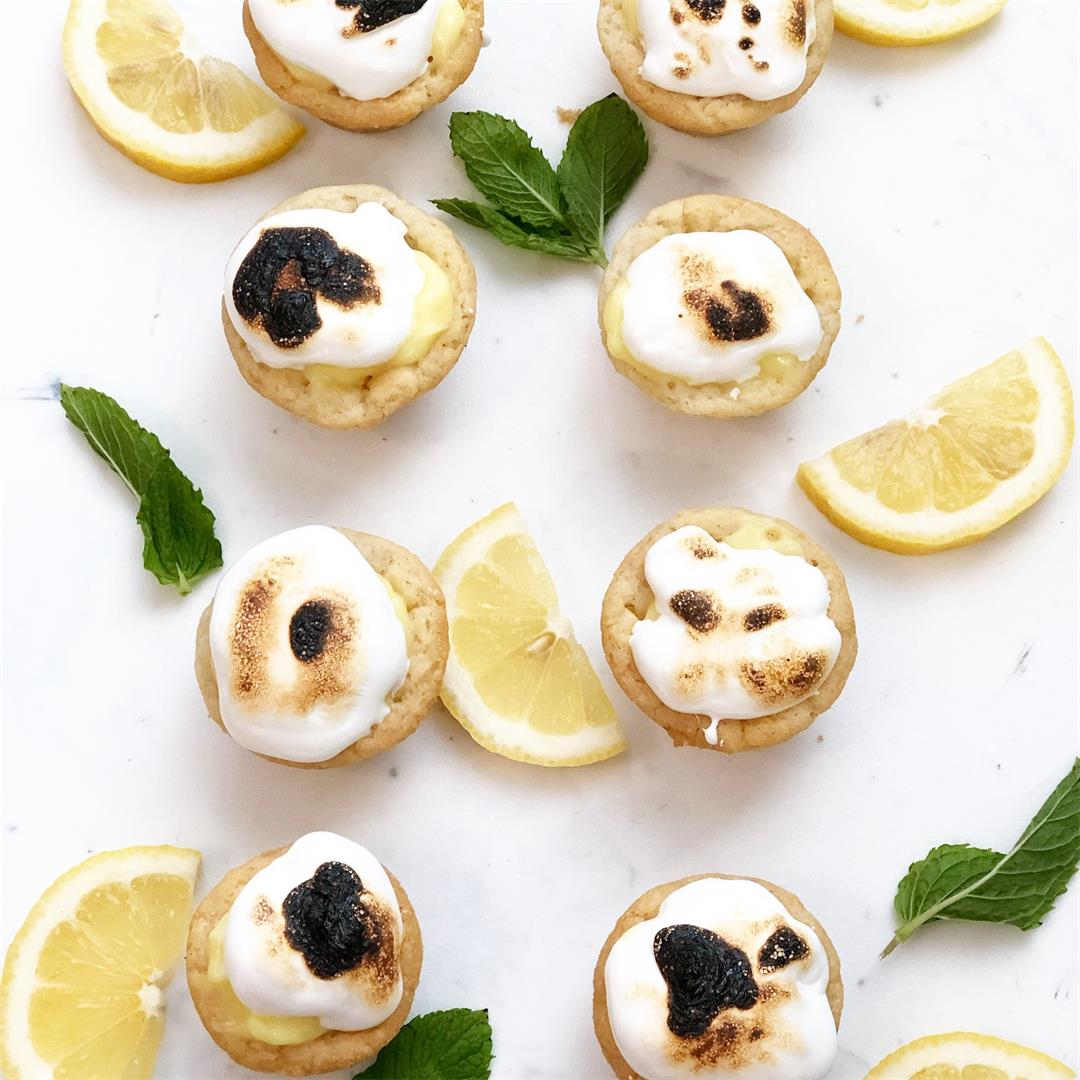 3-Ingredient Mini Lemon Meringue Pie