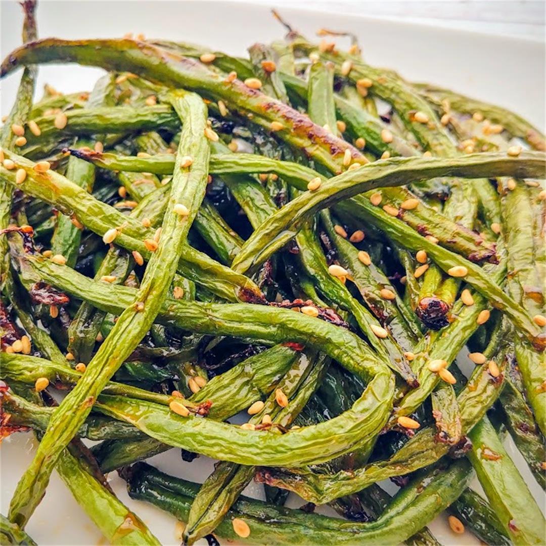 Korean Air Fried Green Beans