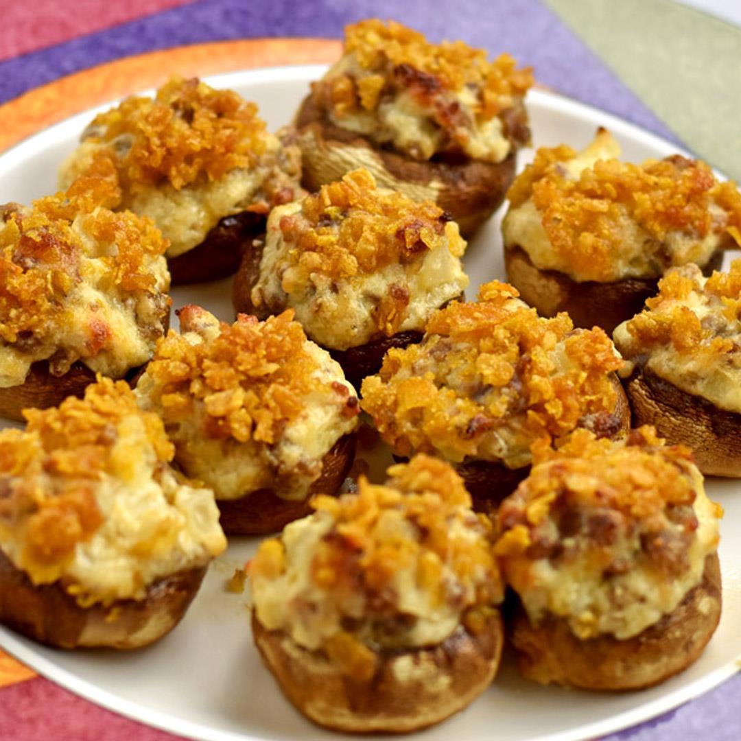Gluten Free Stuffed Mushrooms